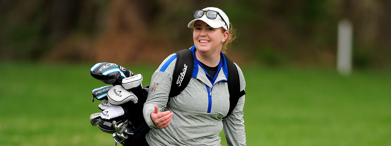 Pevey Moves Into Fifth And Helps Goucher Women's Golf To Third-Place Standing At Landmark Conference Championships