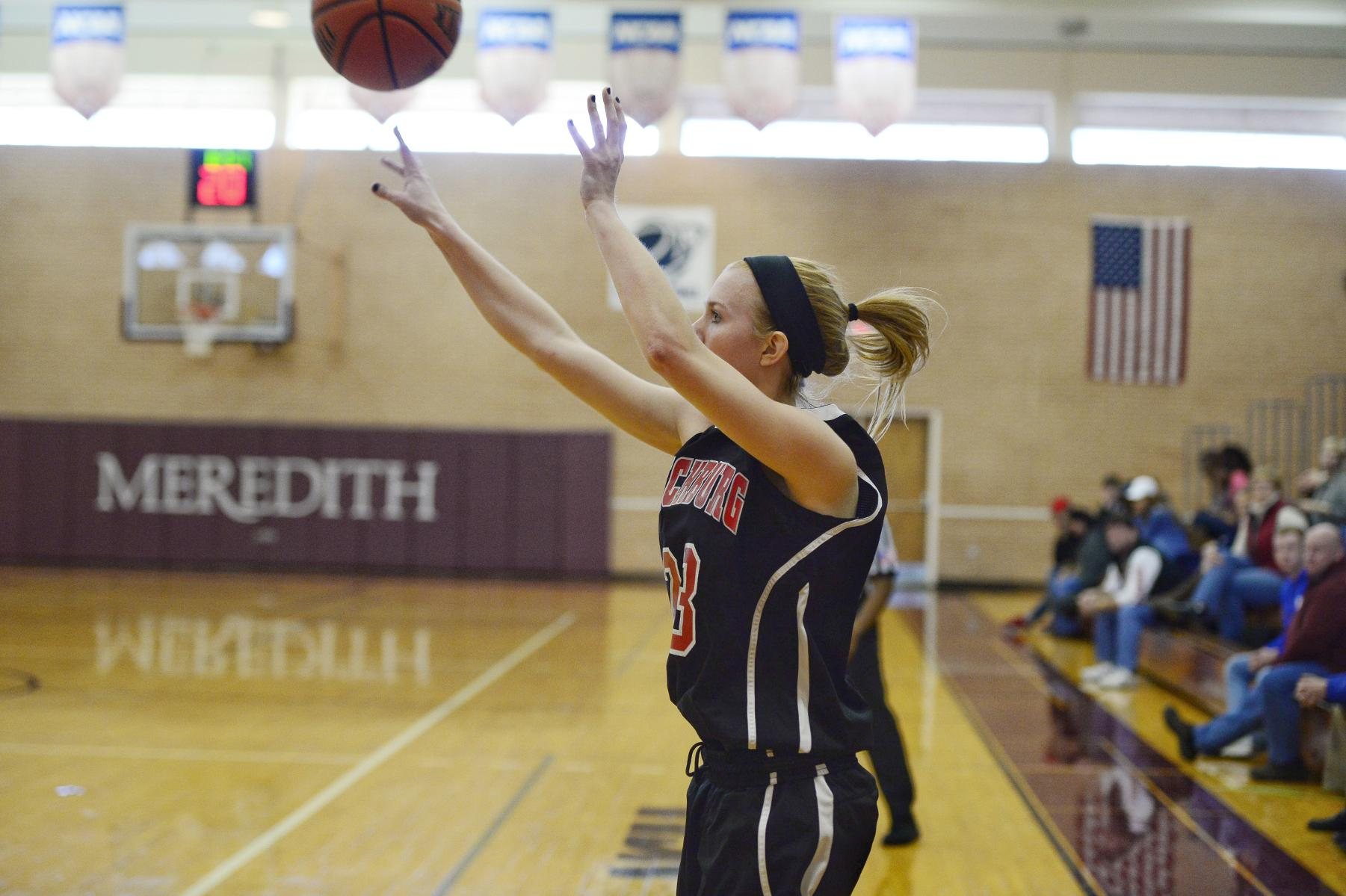 Hornet Women's Basketball Posts 73-60 Win at Meredith