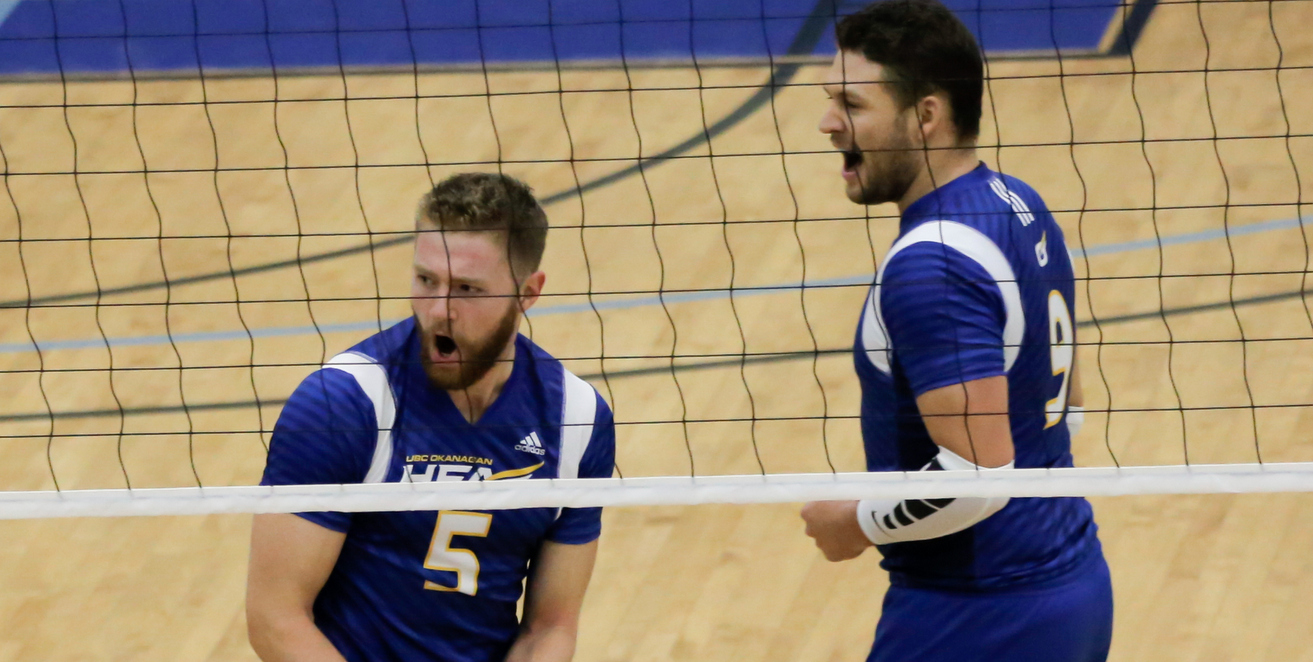 RECAP: Heat earn first win in five-set marathon over Mount Royal