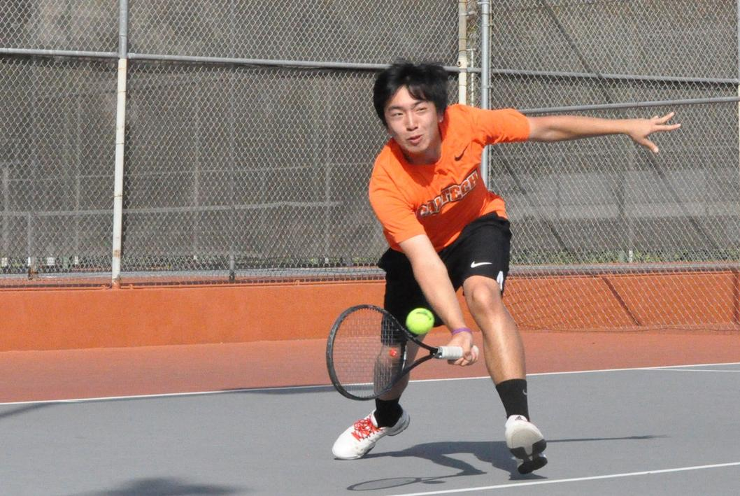 Men's Tennis Fall in Second Weekend Match