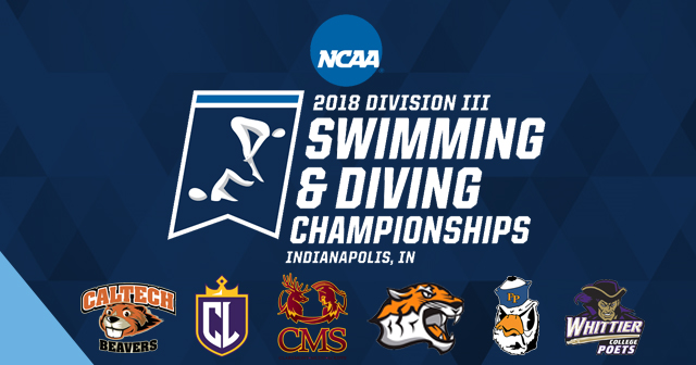 21 SCIAC Swimmers Qualified for NCAA Division III Championships