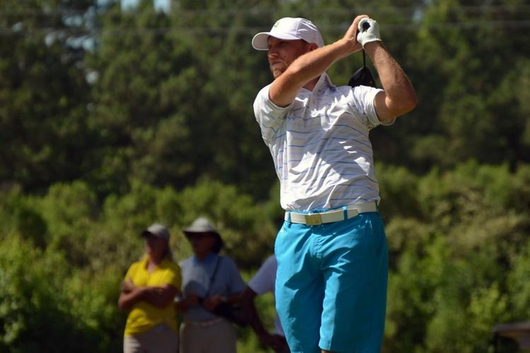 Quakers' golf coach Justin Tereshko placed second for the second year in a row at the 2016 North Carolina Amateur Championship. (Photo courtesy of Carolinas Golf Association)