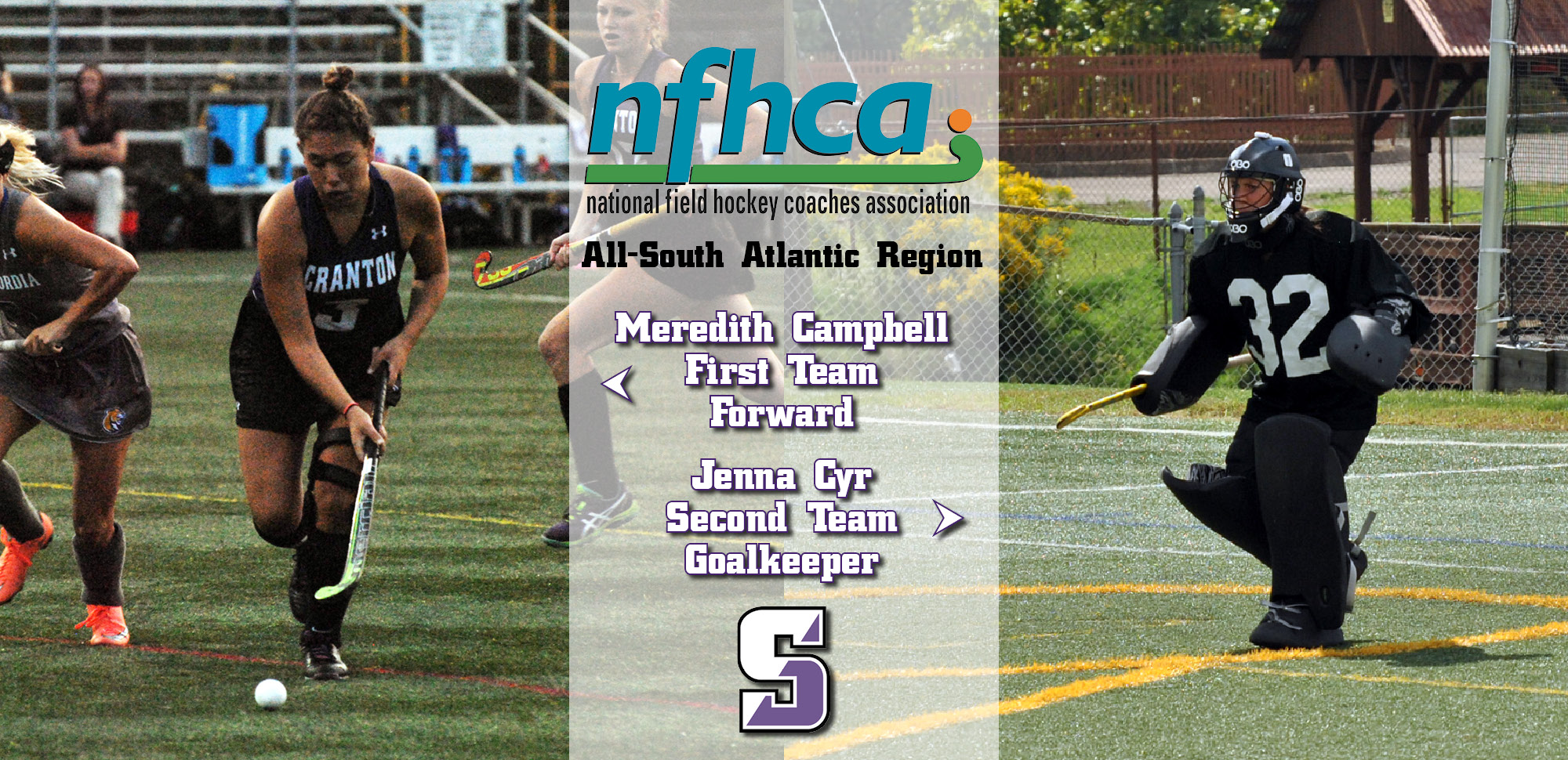 Field Hockey's Campbell, Cyr Earn All-Region Honors