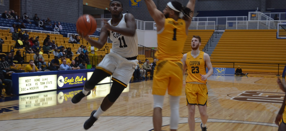 Men's Basketball  Shoots 60 Percent in Second Half, Defeats Host Coppin State, 71-60