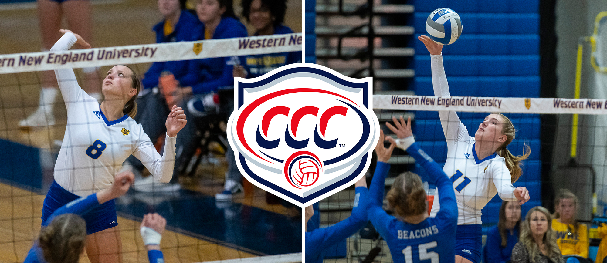 Matthews & Holmes Receive All-CCC Recognition