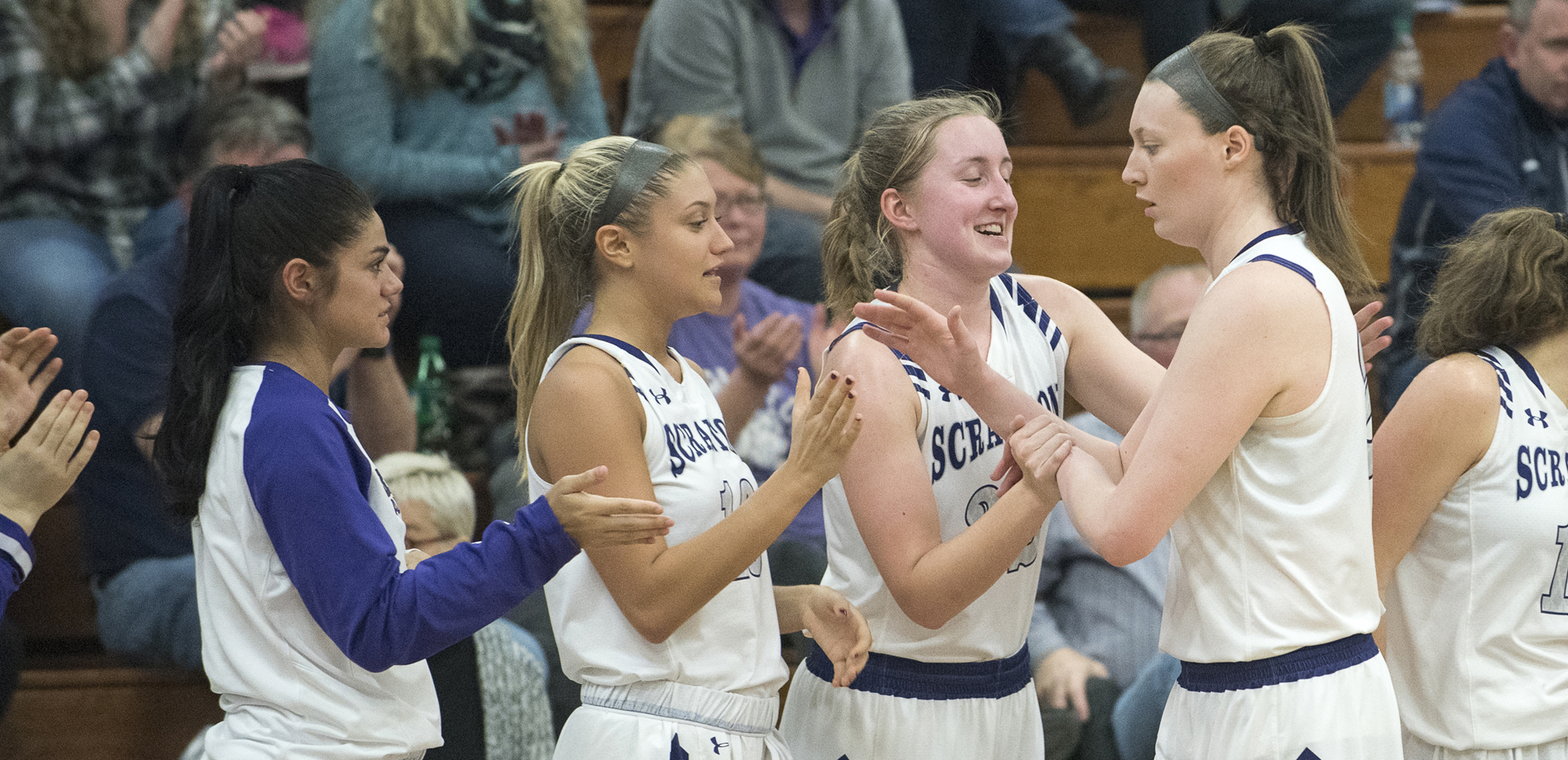 Scranton will host the first two rounds of the NCAA Division III Women's Basketball Tournament this weekend in the John Long Center.