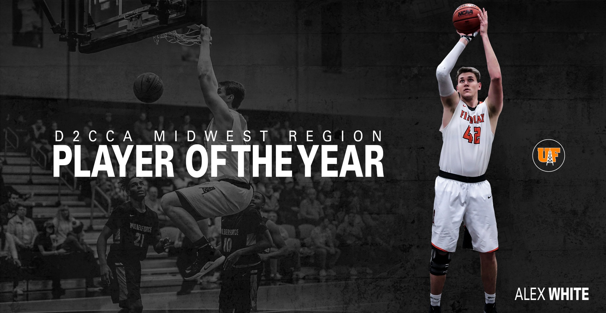 White Named D2CCA Midwest Region Player of the Year