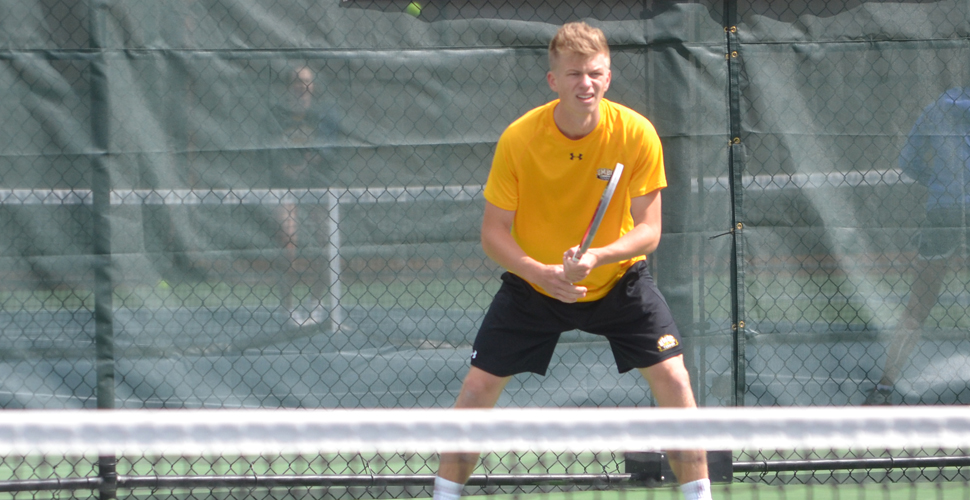 Melker Svard Earns Second AE Men's Tennis Player of the Week Honor