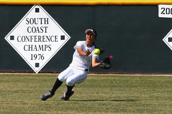 File Photo: Danah Vasquez went 3-for-3 at the plate and had an outfield assist in the Falcons 5-4 loss to ELAC