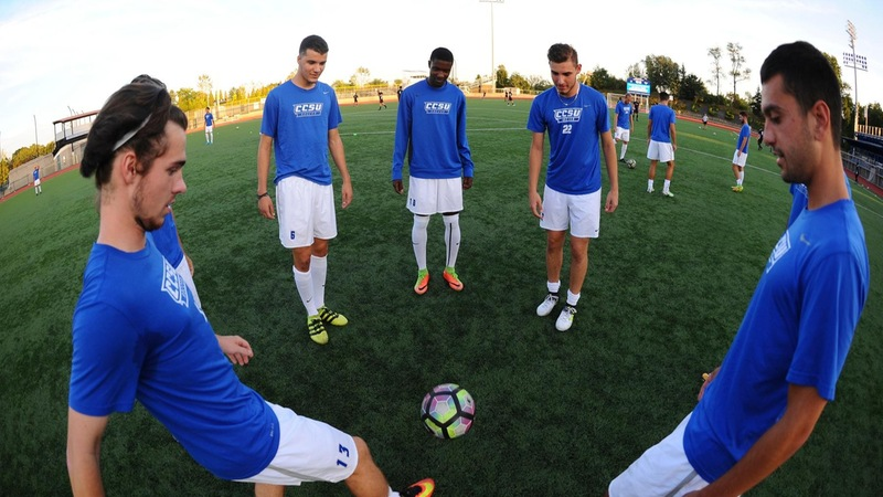 Men's Soccer Opens NEC Play This Weekend