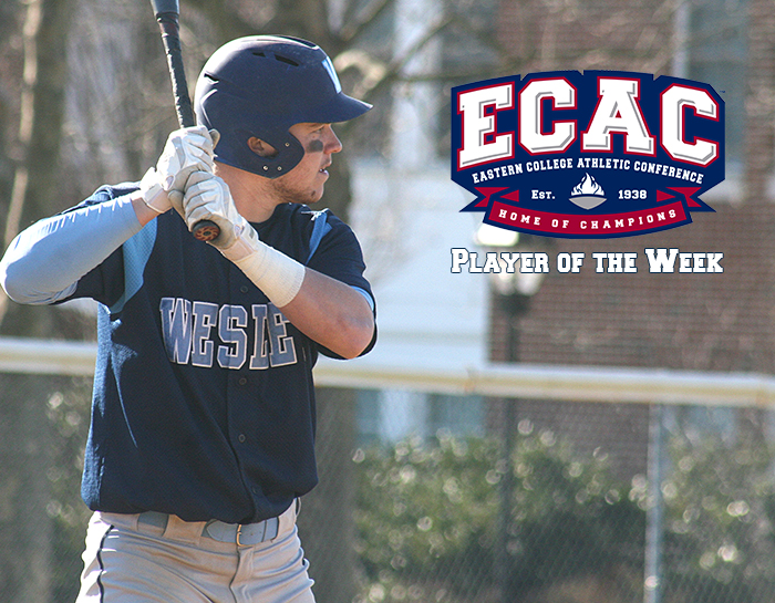 Mears named ECAC Division III South Player of the Week