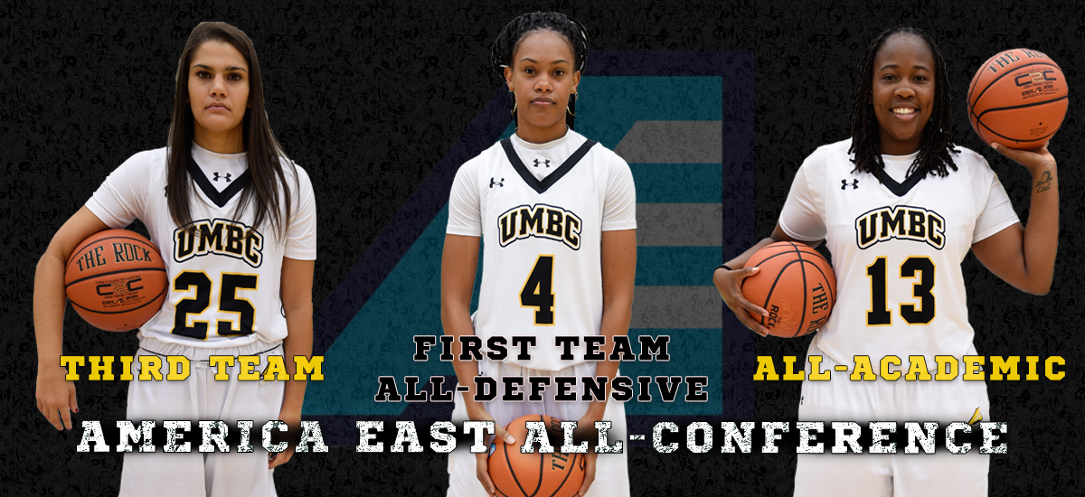 Three Retrievers Earn America East All-Conference Honors