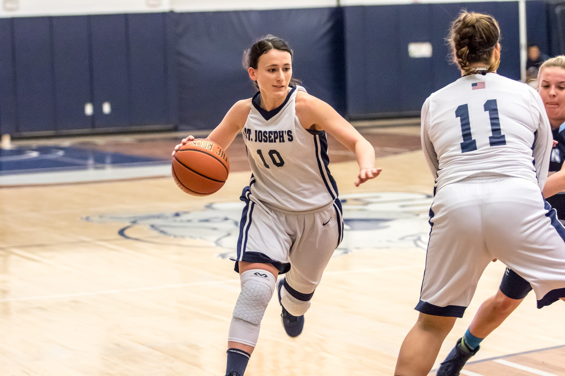 Porcasi, O'Donnell Combine for 40 as Women's Basketball Overcomes Mount Saint Vincent