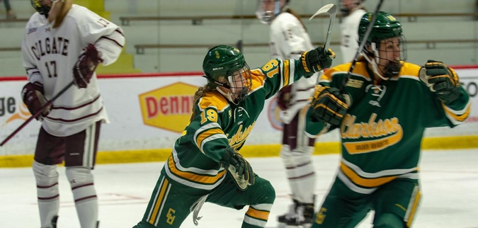 Clarkson blanks Colgate to reach ECAC Hockey Championship Game