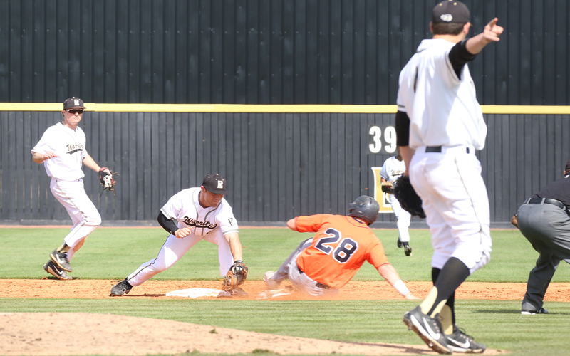 Baseball Warriors Defeat Tyler JC in Rush Invitational