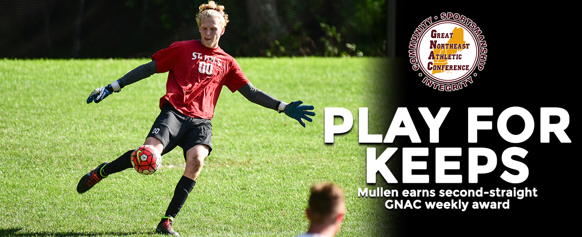 Mullen Earns Second-Consecutive GNAC Honor