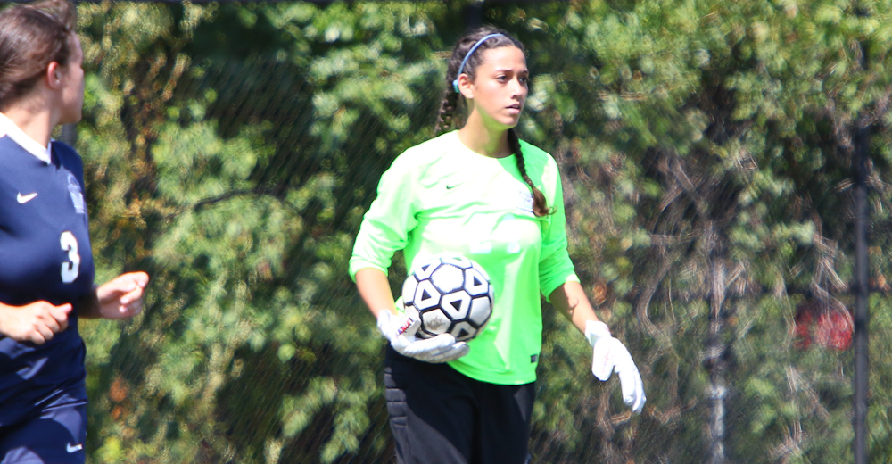 Candelaria Breaks Saves Record Again as Women's Soccer Visits Staten Island