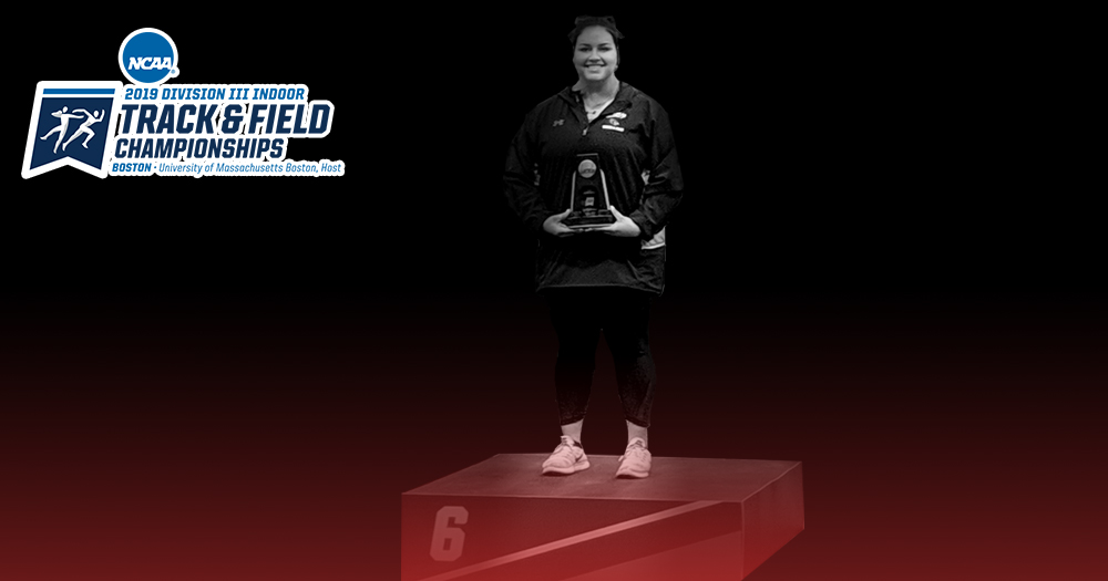 Galeano Becomes First All-American in Women's Indoor Track