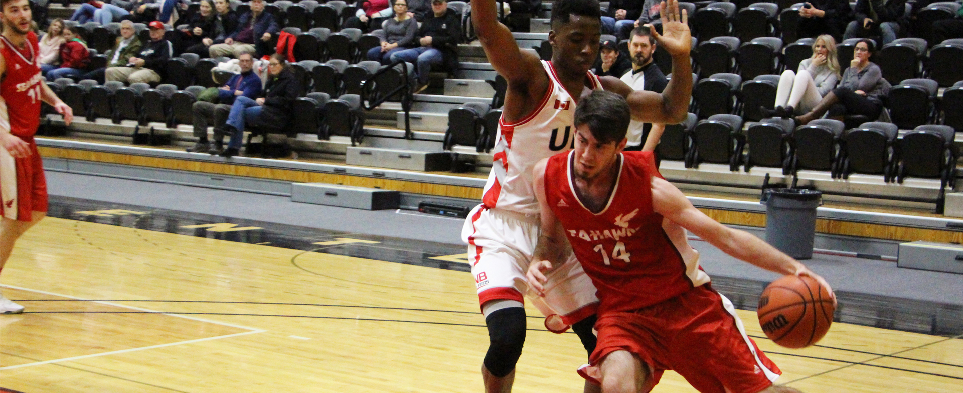 Hawks Defeated 90-55 at UNB