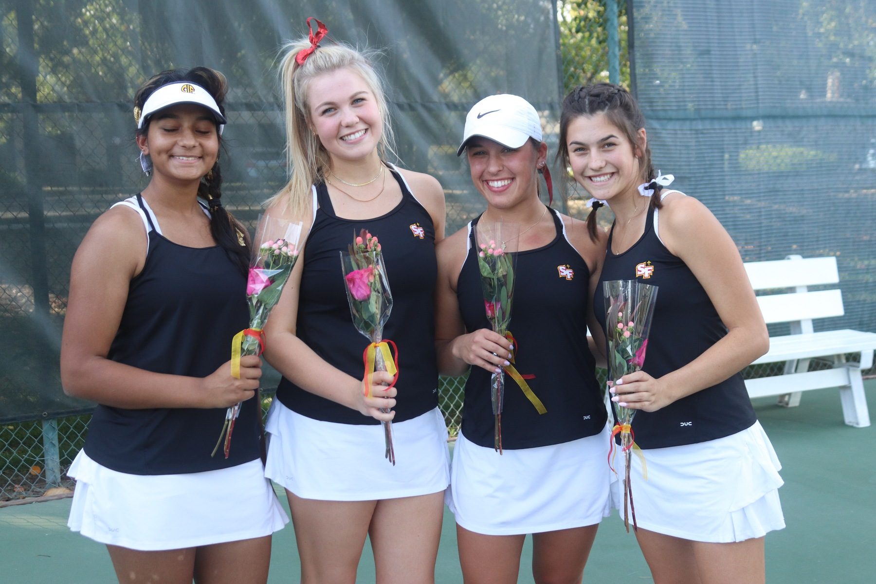 Tennis Seniors Complete Perfect Delta League Careers