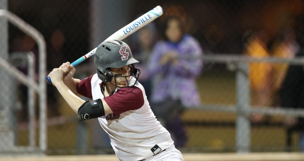 Bonilla's Walk Off Home Run Lifts Softball in Game Two Friday