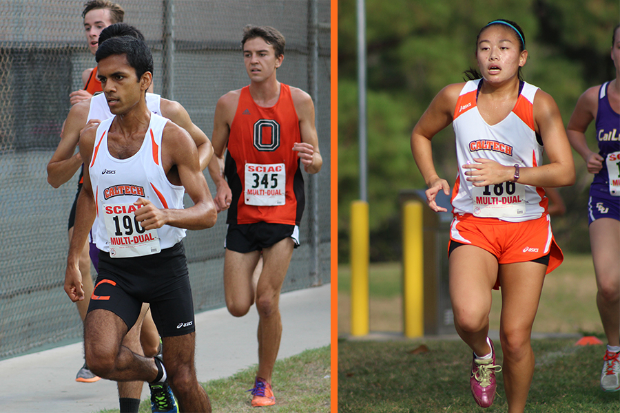 Bhagavathi Makes All-SCIAC First Team for Cross Country at SCIAC Championships