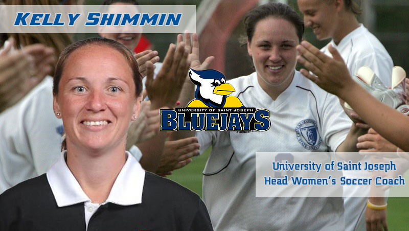 Kelly Shimmin Named USJ Head Women's Soccer Coach