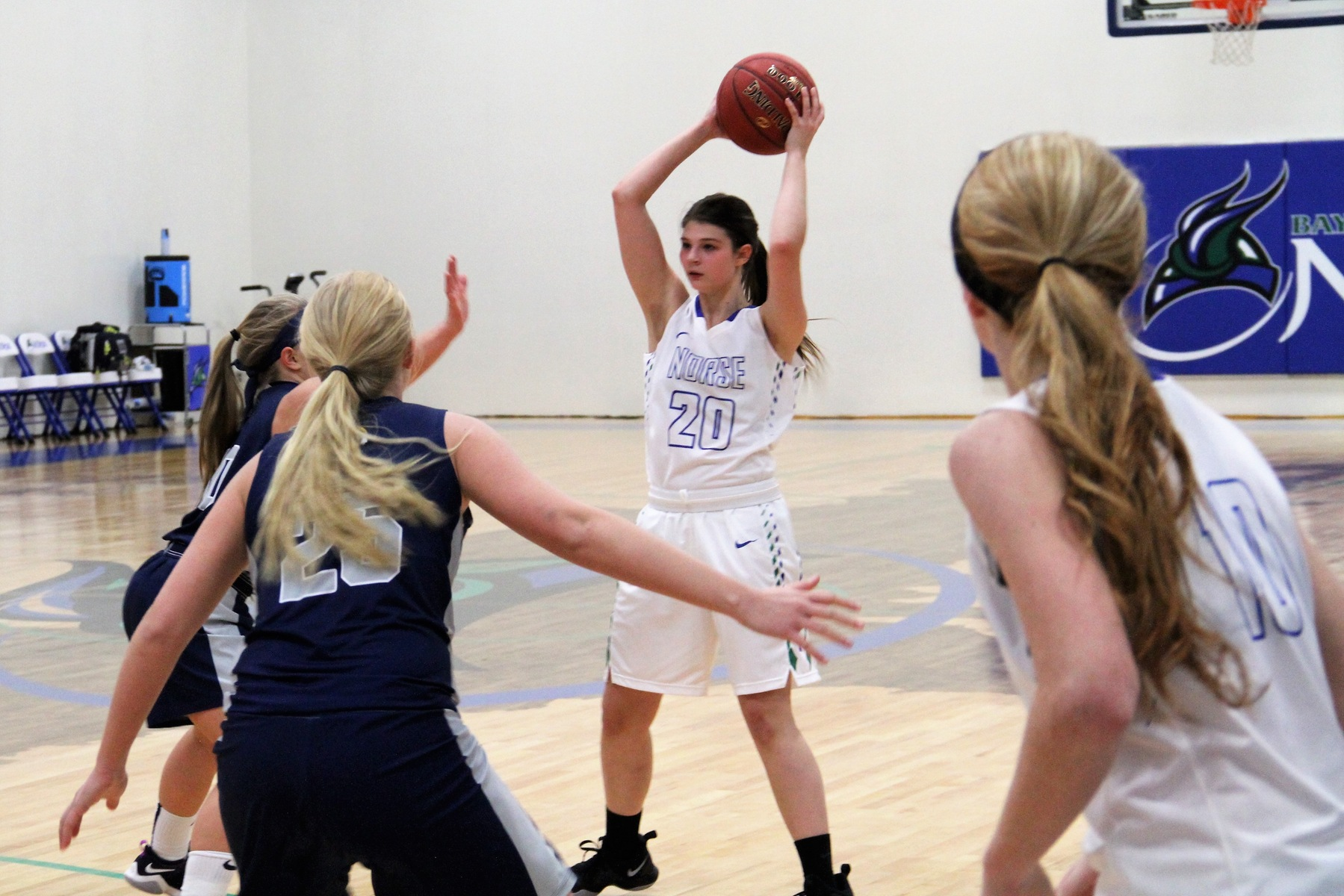 Norse Pull Away Late in Tight Contest