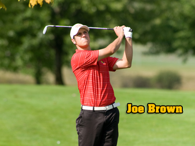 Joe Brown along with fellow senior Garrett Simons both tied for sixth place in the Bulldogs' final tournament of the fall season.  (Photo by Ed Hyde)