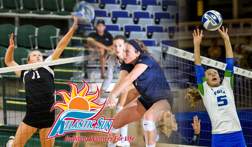 Strausbaugh, Whitmire, Meyer Garner @ASunVolleyball Top Honors