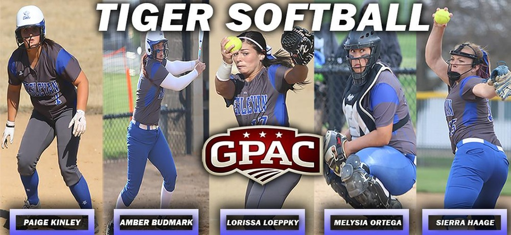 Five members of DWU softball earn All-GPAC honors