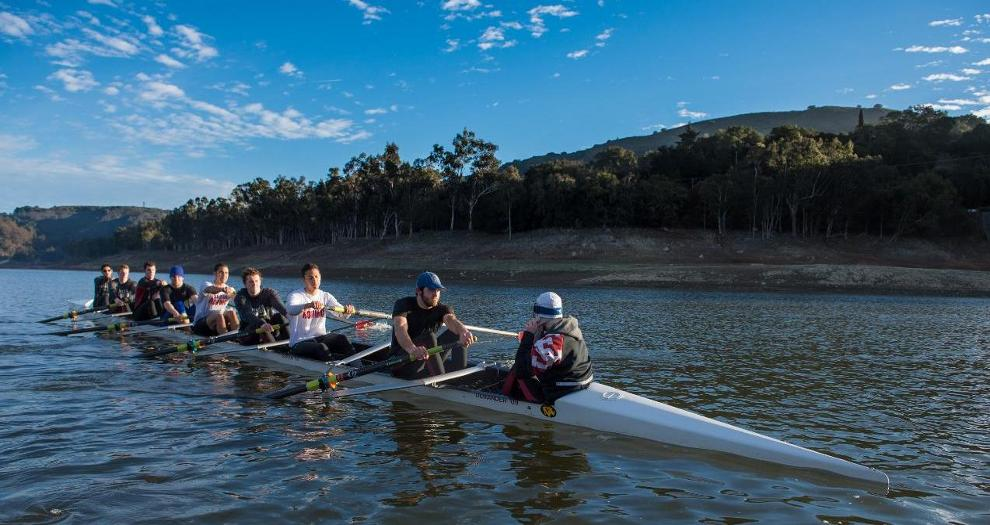 Men's Rowing Turns Sights to Sacramento State Dual Saturday