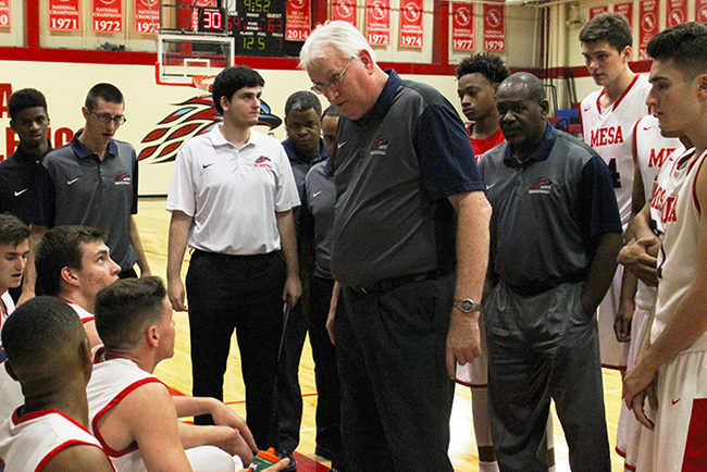 Sam Ballard 2nd in All-Time Mesa Coaching Wins With Victory Over News Release, 101-87