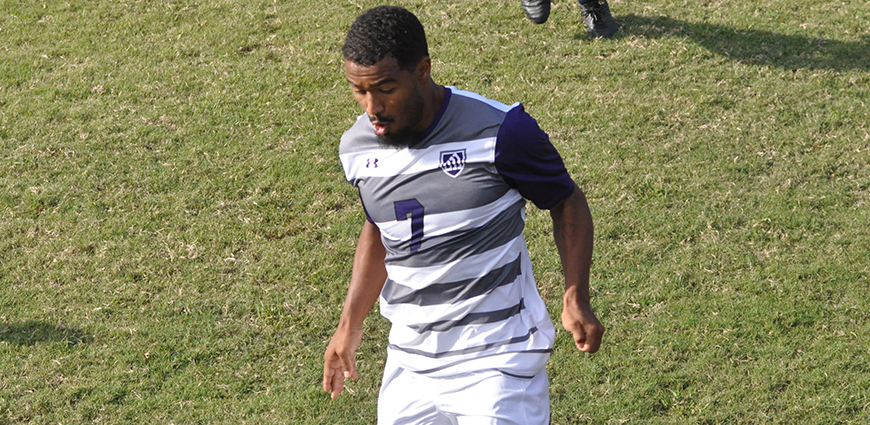 Michael Luster scored a late goal to help the Eagles tie  UT-Tyler.