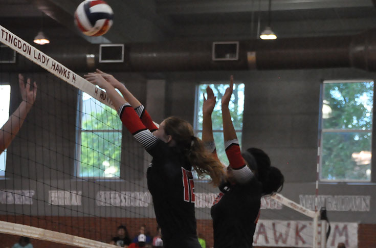 Volleyball: Panthers go undefeated at Huntingdon Invitational