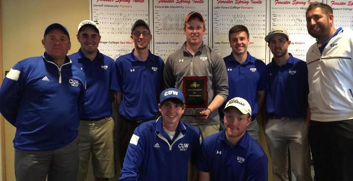 Clemins wins medalist honors, Men's Golf takes Forester Spring Invitational