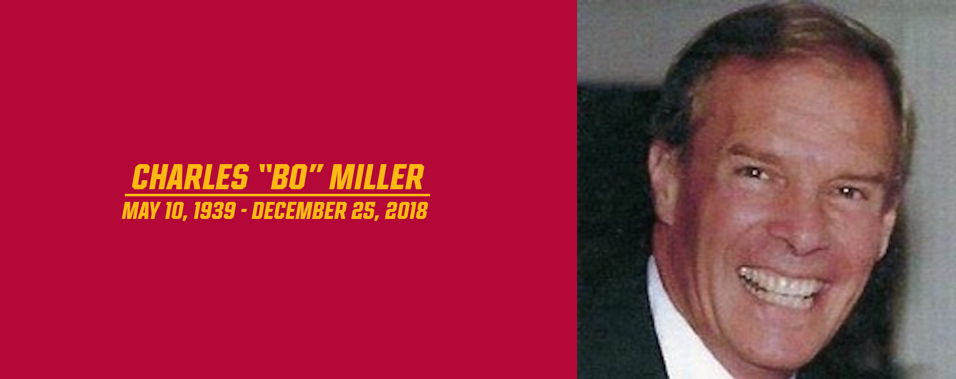"Austin College Mourns the Passing of Charles ""Bo"" Miller"