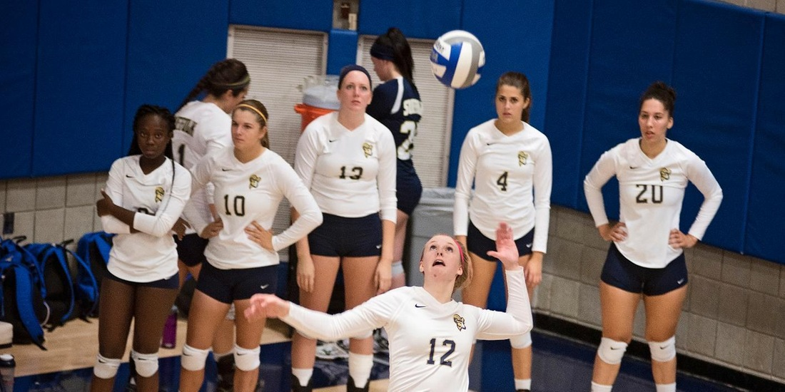Volleyball Sweeps Emmanuel, Defeats Saints for First Time in Program History