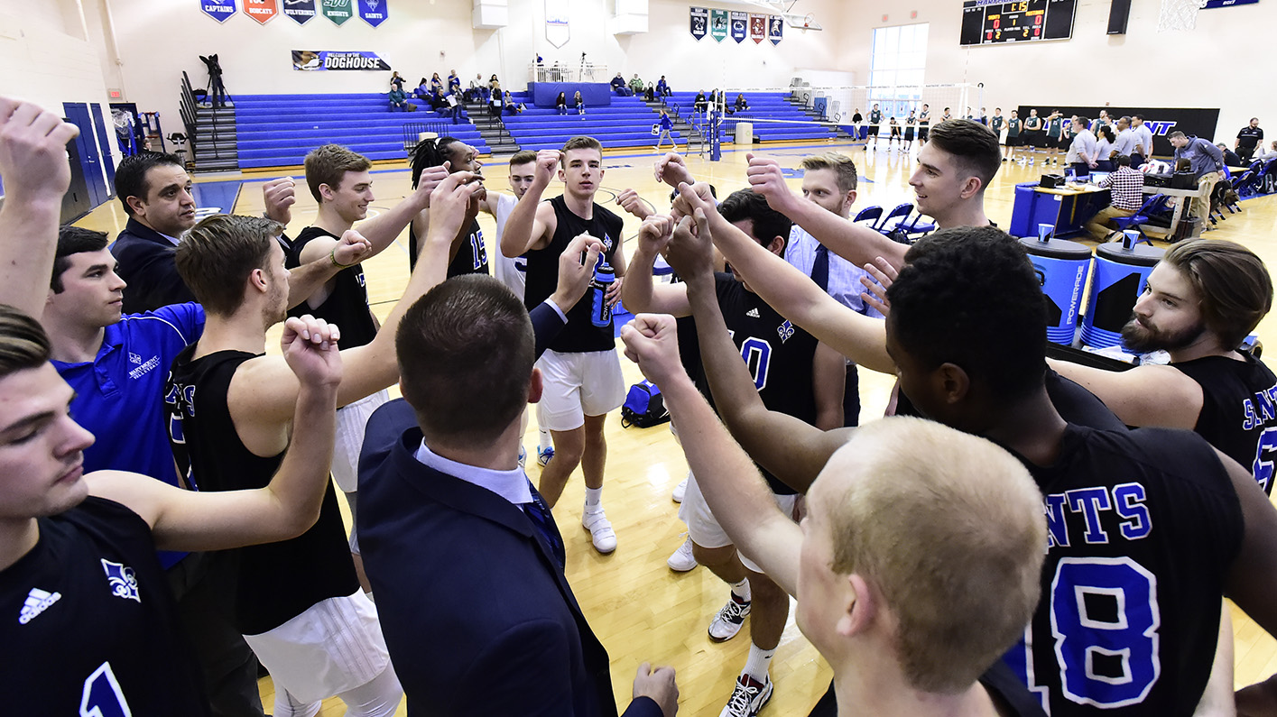 Men's volleyball enters 2019 ranked No. 12 in the country; No. 2 in the CVC