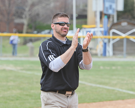 Gallaudet softball picks up first NEAC win in program history