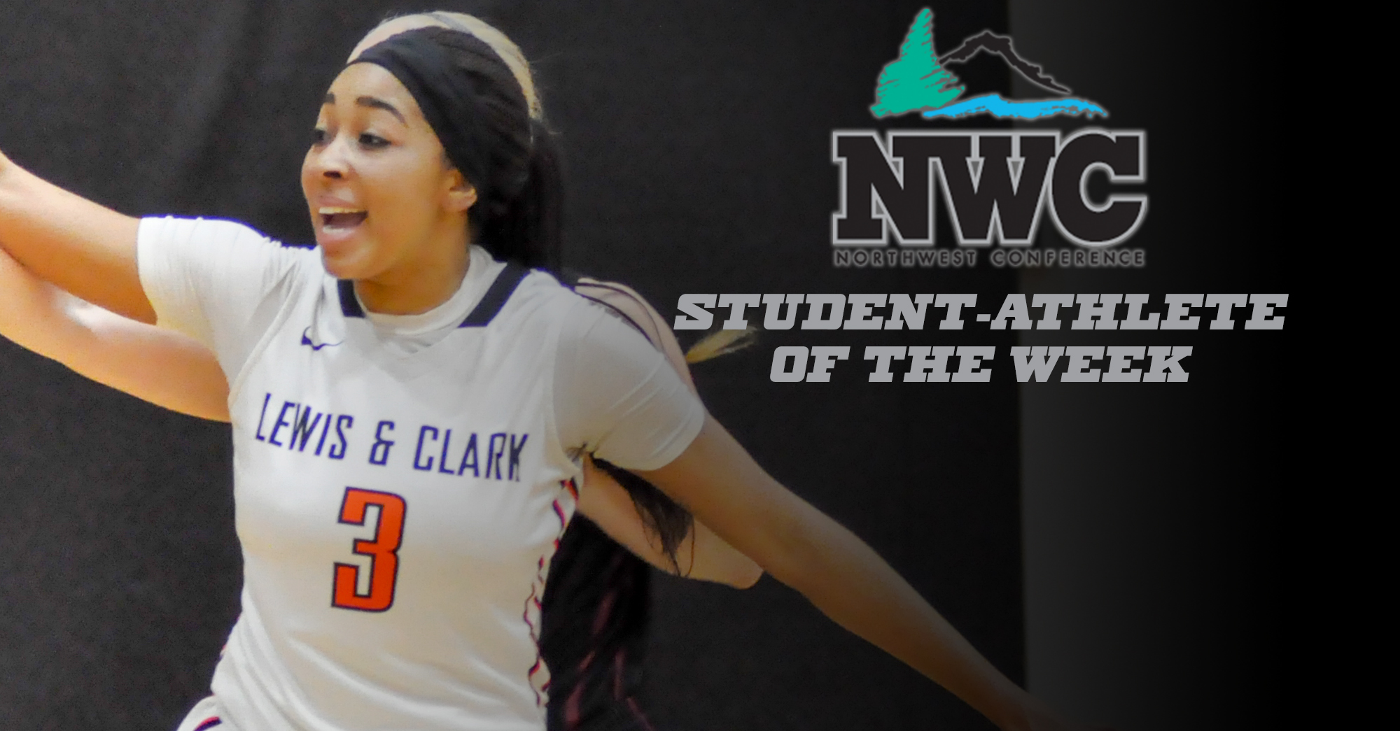 Career-high 27 points propels Afolabi to second NWC honor of the season
