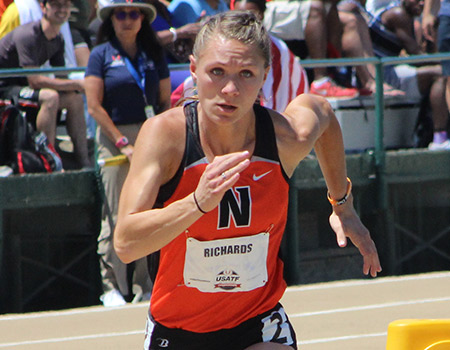 5-time NCAA III Champion Emily Richards finishes 8th in USA in 800-meter run at USATF Outdoor Championships
