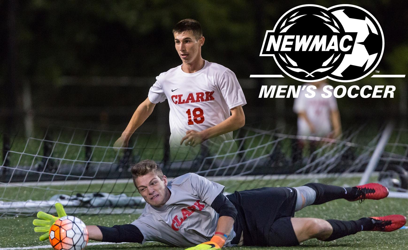 Maguire and Munroe Sweep NEWMAC Men's Soccer Weekly Awards