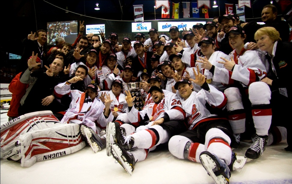 FINAL CIS championship: Host V-Reds blank McGill, claim 4th University Cup