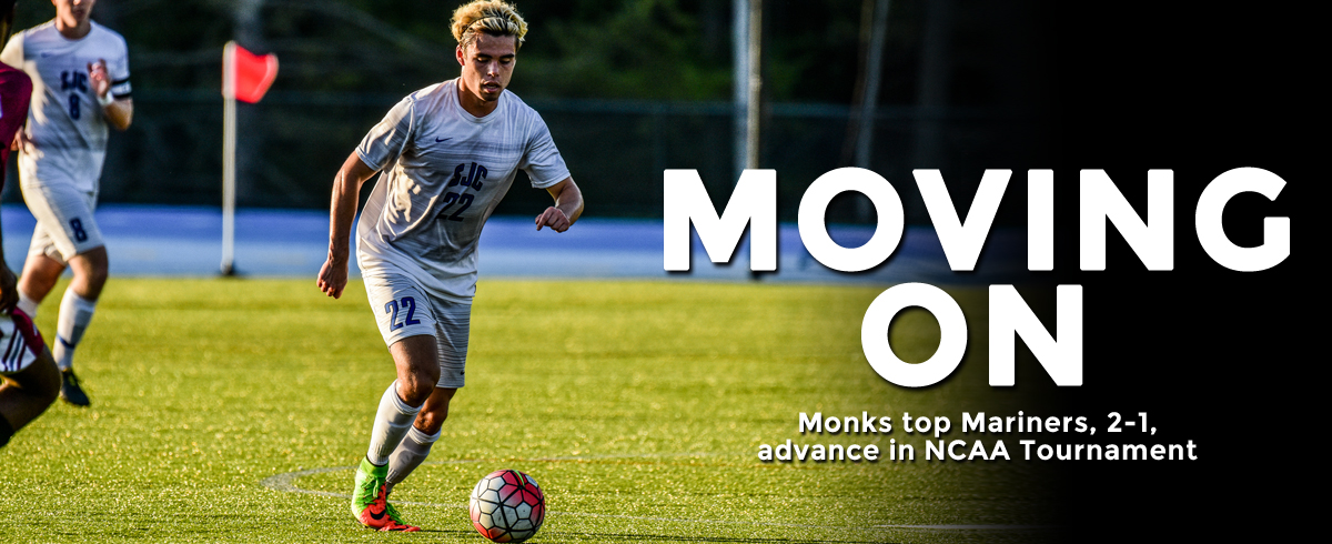 Monks Top Mariners, 2-1, Advance to NCAA Second Round