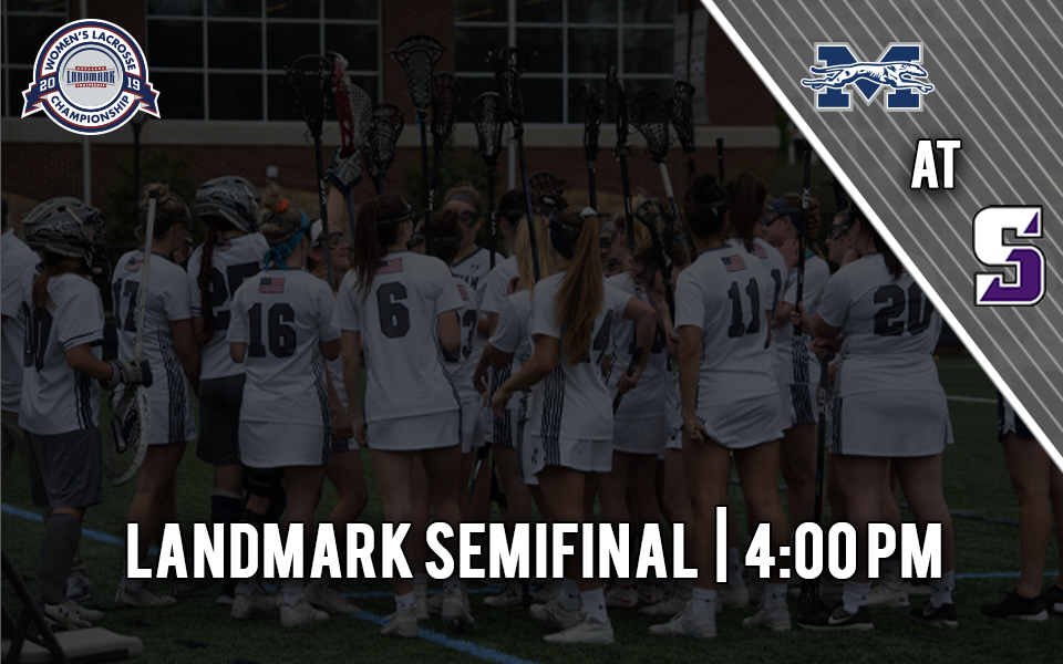 Women's lacrosse heading to The University of Scranton for Landmark Conference Semifinal on May 1.