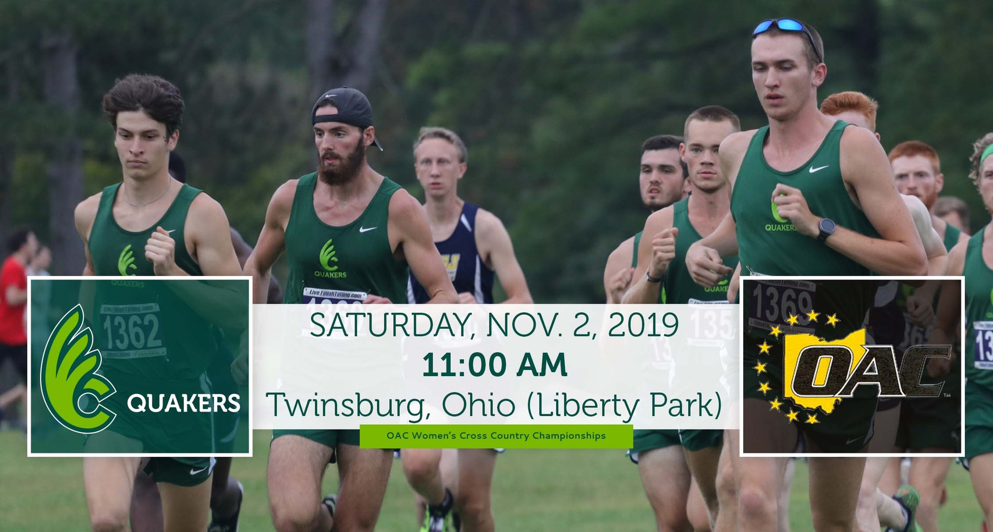 Men's Cross Country Heads to OAC Championships Saturday