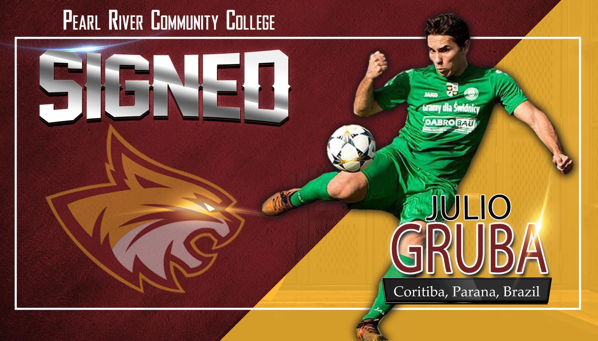 Pearl River soccer signs Brazilian to lockdown midfield