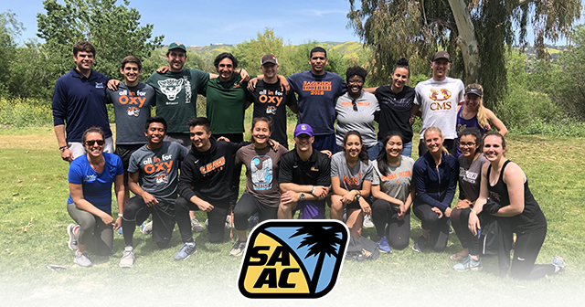 SCIAC SAAC Wraps Up Division III Week at OC Ropes Course