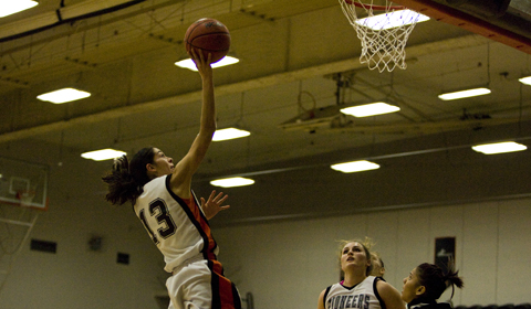 #8 Women's Basketball Secures Winning Season With 57-51 Victory Over Pacific Lutheran